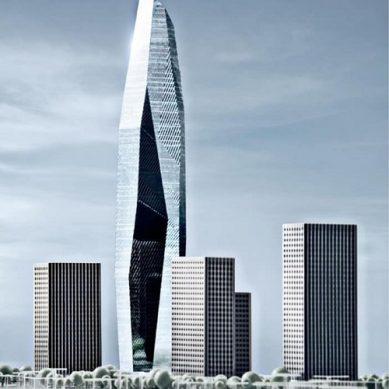 Lancement à Abidjan de la construction  de la Tour F, la plus haute d'Afrique