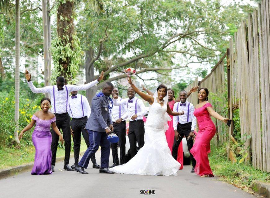 Le mariage de Samson et Michelle
