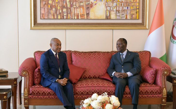 La Côte d'Ivoire accepte d'organiser la CAN 2023 par solidarité au Cameroun
