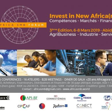 AFRICA SMB FORUM 2019 : INVEST IN NEW AFRICA