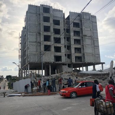 Effondrement d'un immeuble a Angré, voici les causes selon des experts du Ministère de la construction.