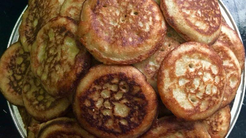 La recette des galettes de mil