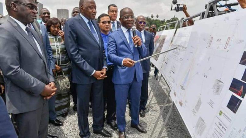 Infrastructure Routière le 5e Pont d'Abidjan | Les travaux du Pont de Cocody à Abidjan avancent déjà