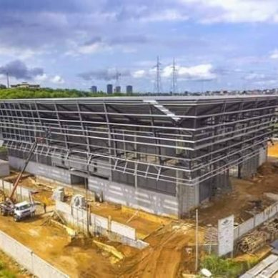 Le Centre Sportif, Culturel et des TIC Ivoiro-Coréen bientôt achevé