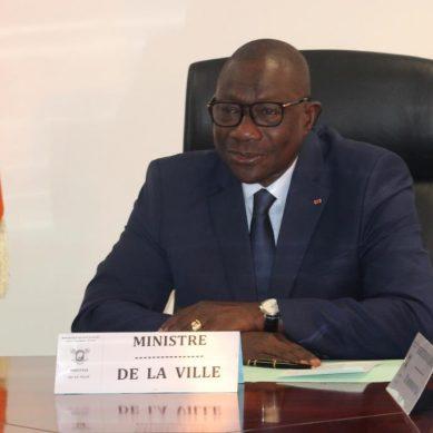 Le Ministre François Albert Amichia annonce l'organisation de la 1ère édition de la « Semaine de la Ville»