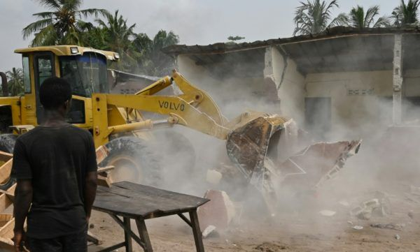 Déguerpissement autour de l'aéroport d'Abidjan, l'opération lancée