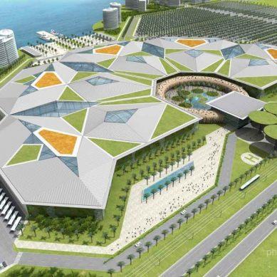 Projet de Construction d' Abidjan Parc Exposition Palais des Congrès