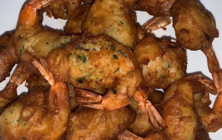 Recette: Beignets aux crevettes