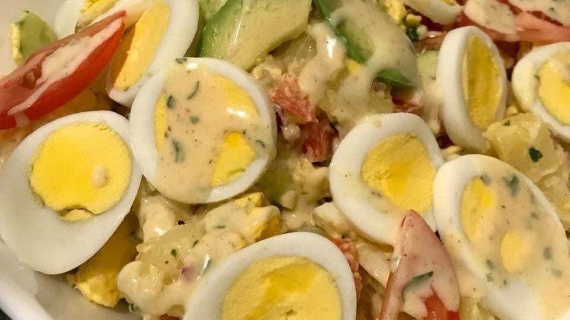 Recette : Salade des pommes de terre aux œufs