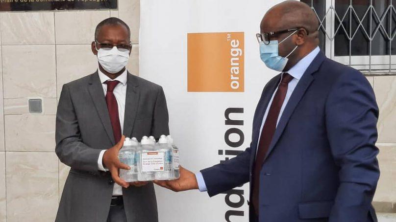 COVID-19: la Fondation Orange CI offre des dons d'une valeur de 325 millions de francs CFA