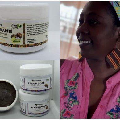 Cette ivoirienne a lancé des produits de beauté uniquement à base de plantes