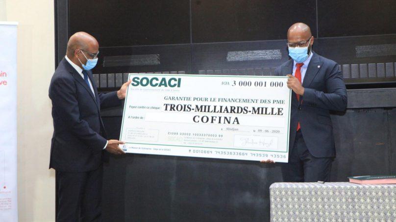 La Compagnie Africaine de Crédit (CAC) reçoit 3 milliards de SOCACI