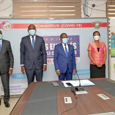 COVID-19 : La Fondation Temasek et le Groupe OLAM apportent un appui en matériels sanitaires au gouvernement ivoirien