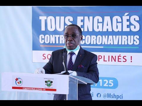 La barre des 10 000 malades de la Covid-19 franchit en Côte d'Ivoire