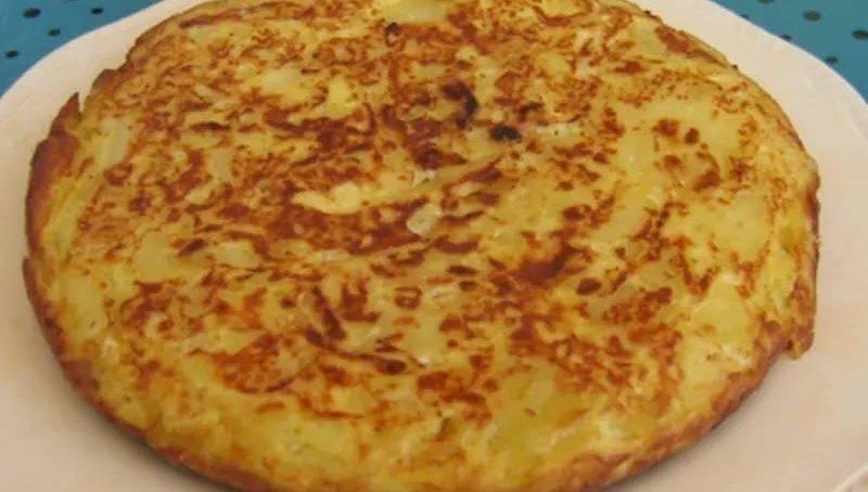 Recette de tortillas de pommes de terre fait maison