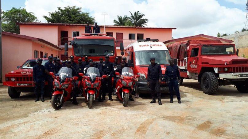 Bingerville s'offre une caserne de Sapeurs Pompiers Militaires