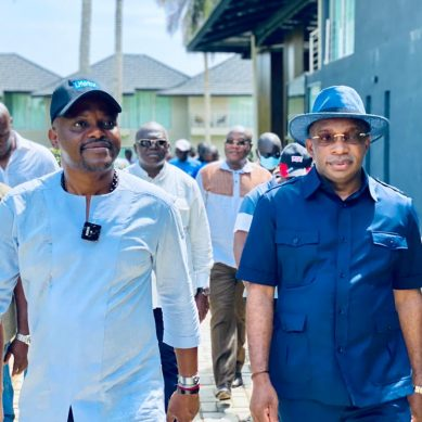Tourisme:  Le Ministre Siandou Fofana  sur le site du BBr – Boulay Beach Resort