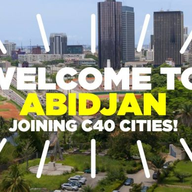 La ville d'Abidjan a rejoint le réseau C40 Cities Climate Leadership Group