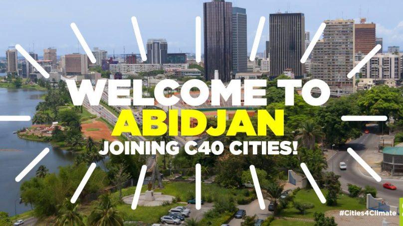 La ville d'Abidjan a rejoint le réseau C40 Cities Climate Leadership Group