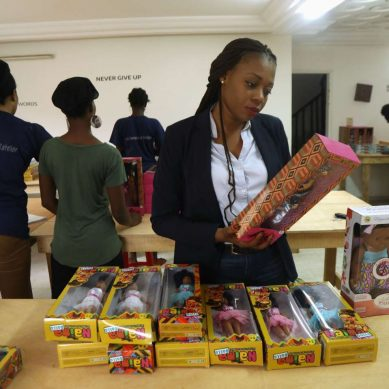 Naima Dolls, des poupées africaines made in Côte d'Ivoire