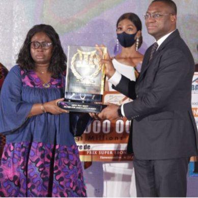 22e EBONY : Marcelle Aka désignée meilleure journaliste de Côte d'Ivoire