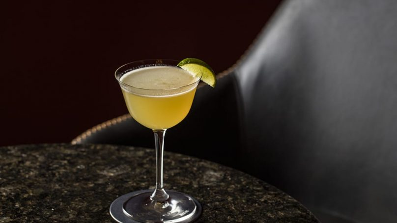 Cocktail au rhum: Golden Daiquiri facile à faire.