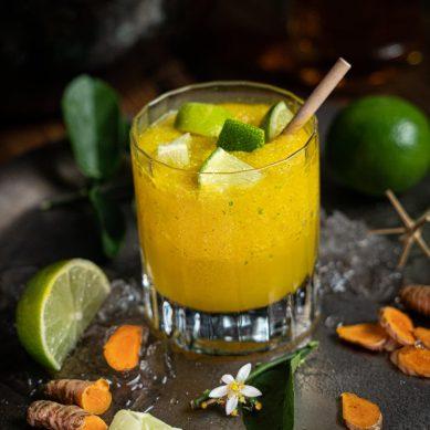 Recette de cocktail Daikiri au Curcuma à faire à la maison