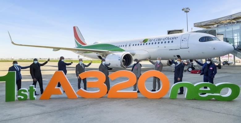 Air Côte d'Ivoire réceptionne son nouvel avion, un Airbus A320neo