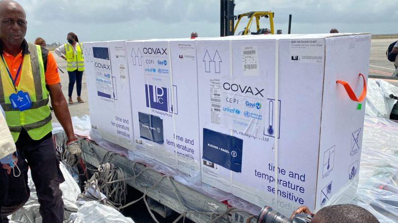 504.000 doses de vaccin anti-Covid livrées à la Côte d'Ivoire