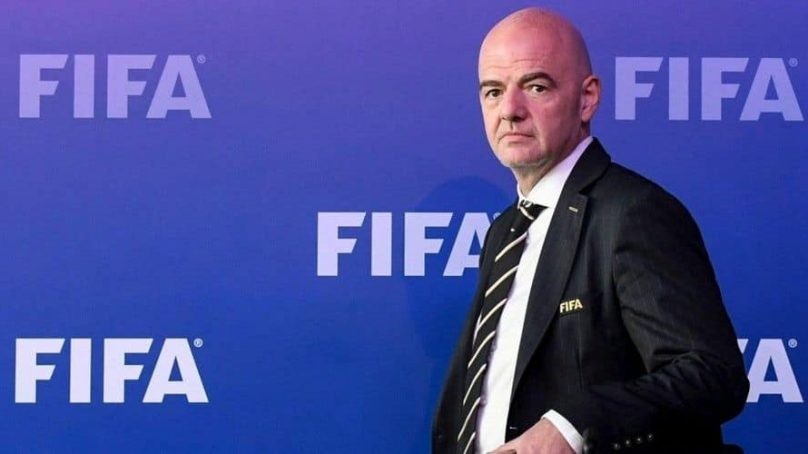 Ce que vient faire le president de la FIFA Gianni Infantino à Abidjan