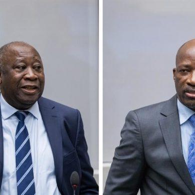 La Cour pénale internationale confirme l'acquittement de l'ancien président Laurent Gbagbo et Charles Blé Goudé