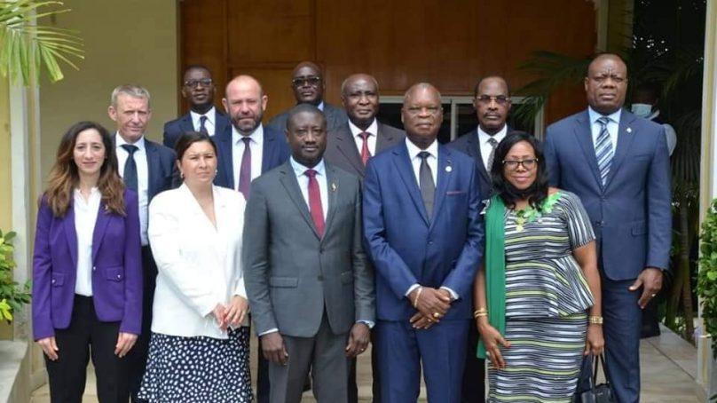 Sénat de Côte d'Ivoire : Rencontre avec une délégation de parlementaires français