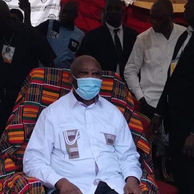 Accueil triomphal pour le Président Laurent Gbagbo à Mama