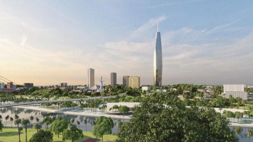 Les travaux de construction de la plus haute tour d'Afrique ont été lancée à Abidjan