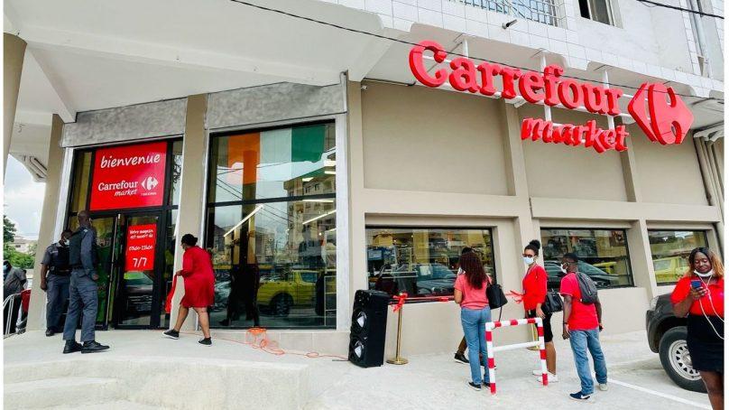 CFAO Retail inaugure son cinquième supermarché Carrefour Market