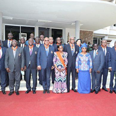Distinction : 22 personnalités de l'Etat élevées dans l'ordre national, dont le premier ministre Patrick Achi à la dignité de grand-officier